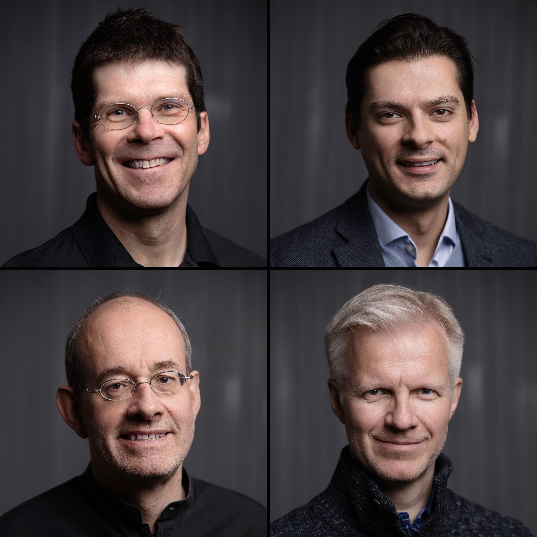 Hartmann, Coelho, Küssner, Gimse. Foto: Tom Gustavsen
