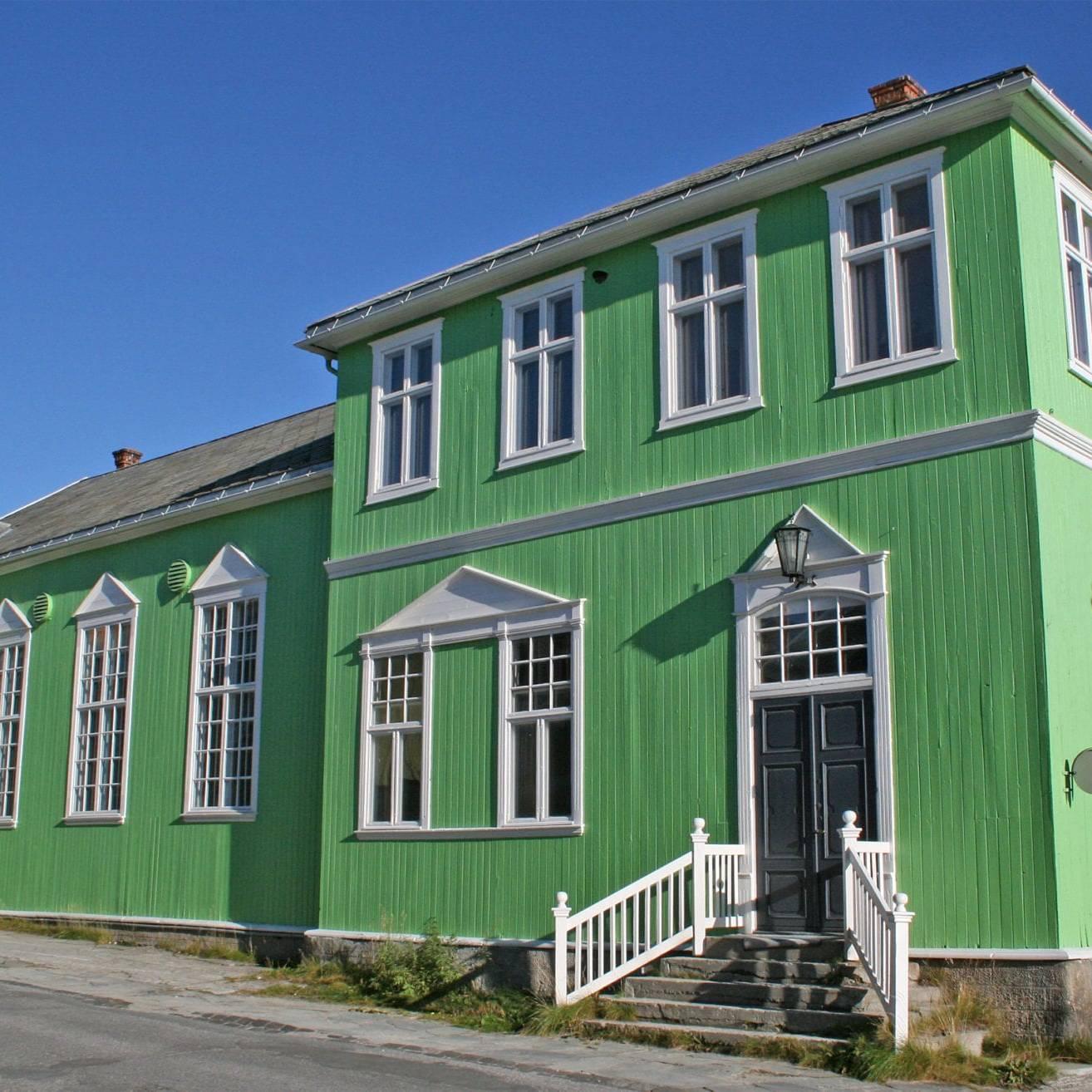 Sangerhuset på Røros. Bygningen ble oppført for Røros Sangforening i 1907. Foto: Lars Geithe, 2008.