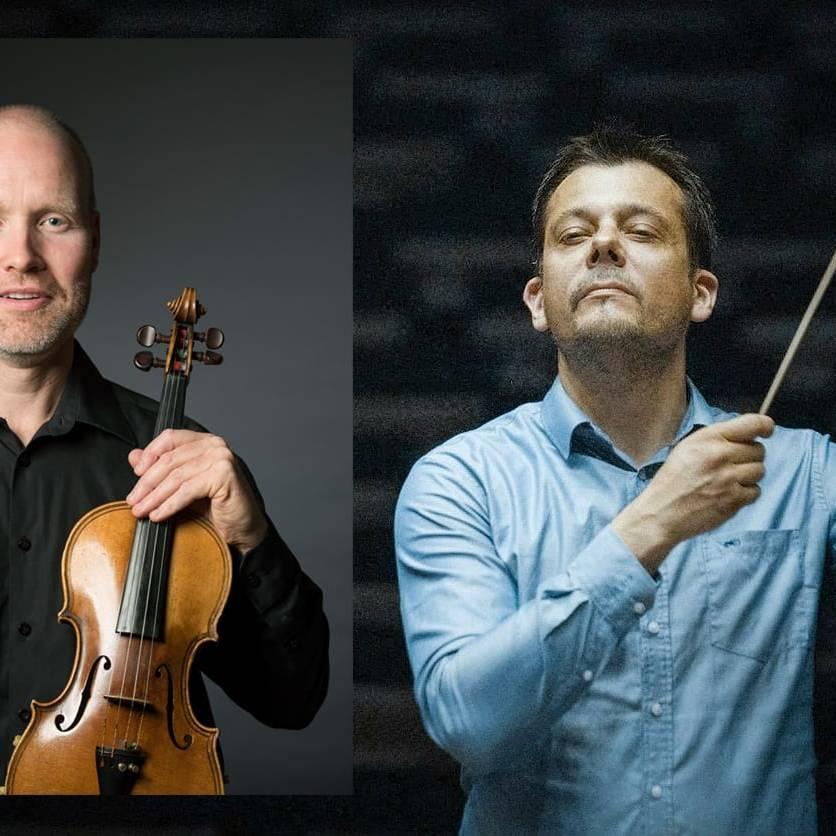 Arve Moen Bergset og Peter S. Szilvay.