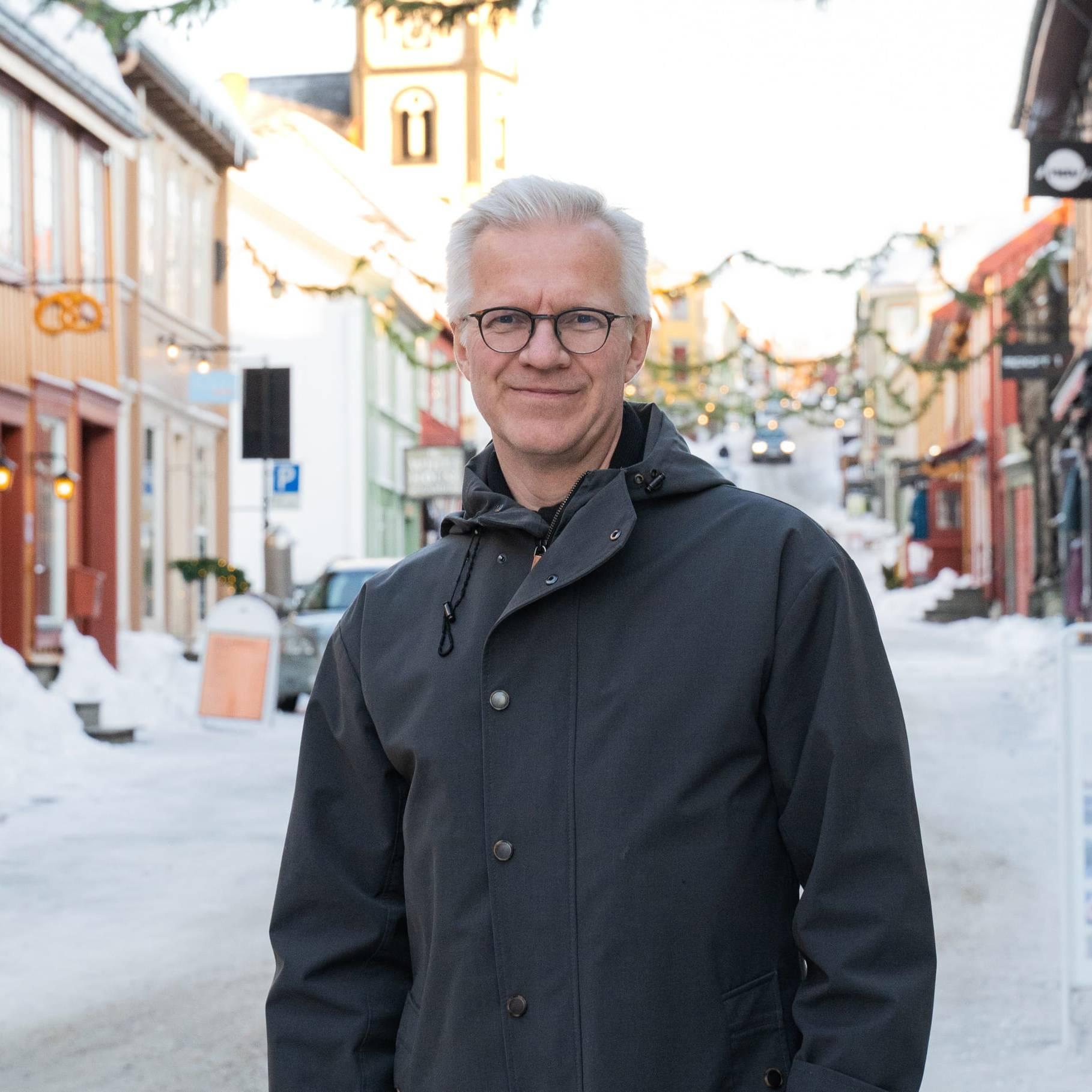 Øyvind Gimse. Foto: Trine Lysholm Hagan