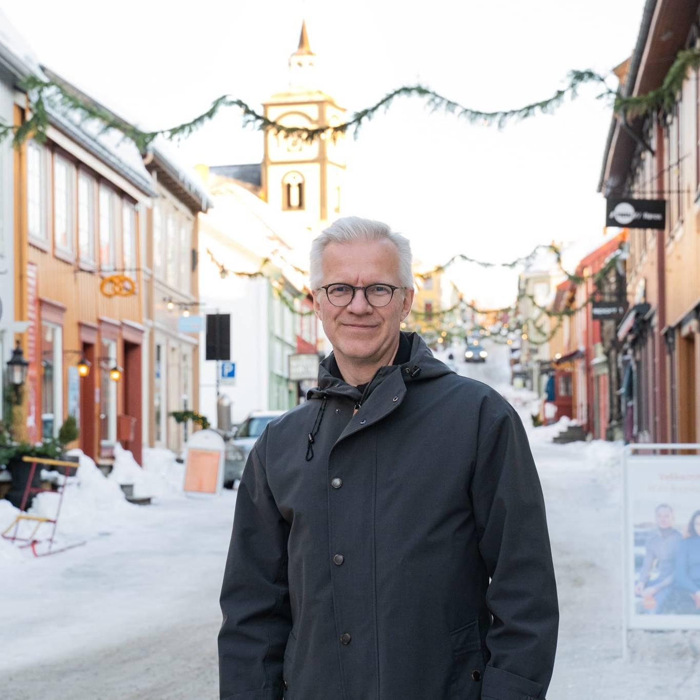 Øyvind Gimse er årets kunstneriske leder for Vinterfestspill i Bergstaden. Foto: Trine Lysholm Hagan.